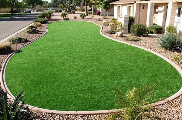 Artificial Grass Yards : Front Yards  All Seasons Synthetic Turf  Artificial synthetic grass